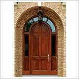 Portoni in legno ad arco serramenti lima s r l produzione porte e finestre in legno massello - Porte interne ad arco ...