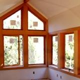 Serramenti Lima: Finestra legno irregolare personalizzata 1