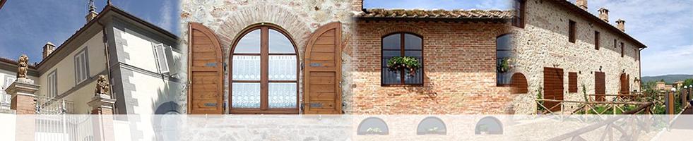 Porte per interni in legno ad arco serramenti lima s r l for Ad interni