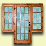 Serramenti Lima: Porta finestra legno 1